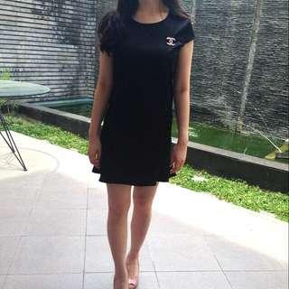 Black Trumpet Dress