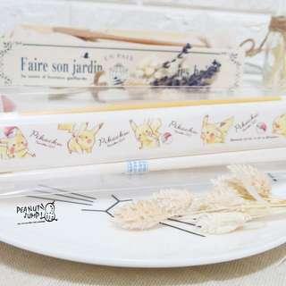日本正品 手繪風皮卡丘 愛地球環保餐具 環保筷