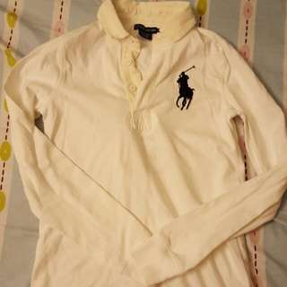 Ralph Lauren Size S White Winter Polo