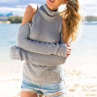 Looking For Cutout Sweater