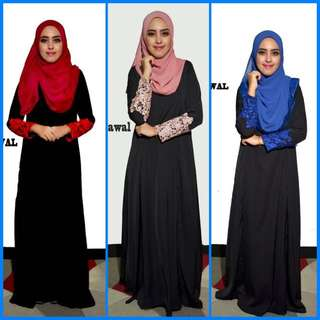 Authentic Jubah lace From Vitnem