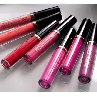全新Makeup Revolution salvation Velvet Lip Lacquer唇釉 霜狀唇膏