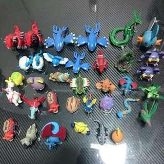 神奇寶貝 精靈寶可夢 吊卡 公仔 非正版品 全部一起賣
