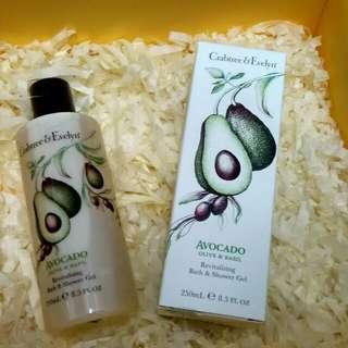 Crabtree & Evelyn Avocado Olive & Basil Bath and Shower Gel