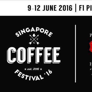 Pair of Singapore Coffee Festival Tickets