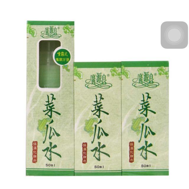 絲瓜水50ml,三入(含補充包)