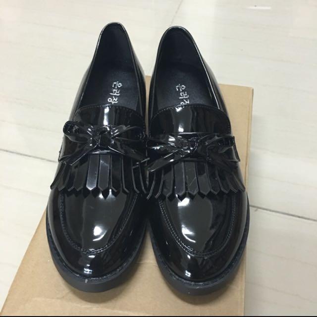 復古流蘇樂福鞋
