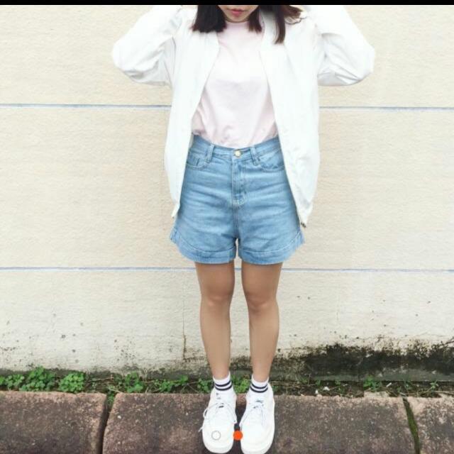 淺色牛仔短褲💓(含運)