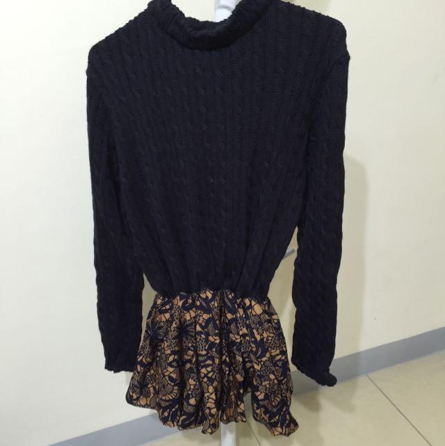 毛衣連衣裙(全新)