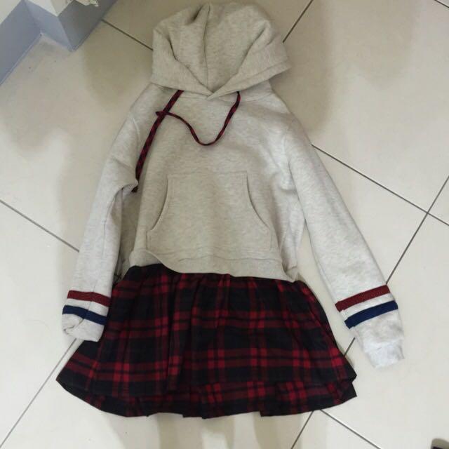 學院風連衣裙(全新)
