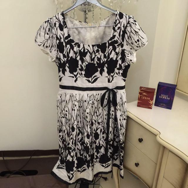 赫本風洋裝
