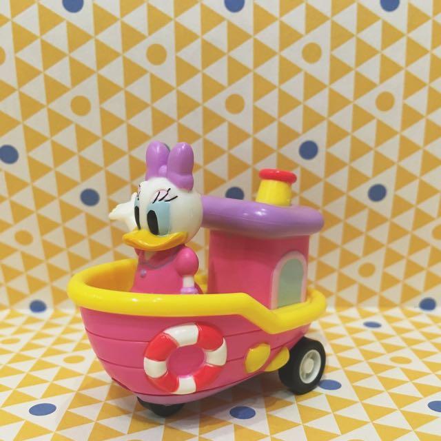 日本 迪士尼樂園Disney限定扭蛋 黛西迴力車