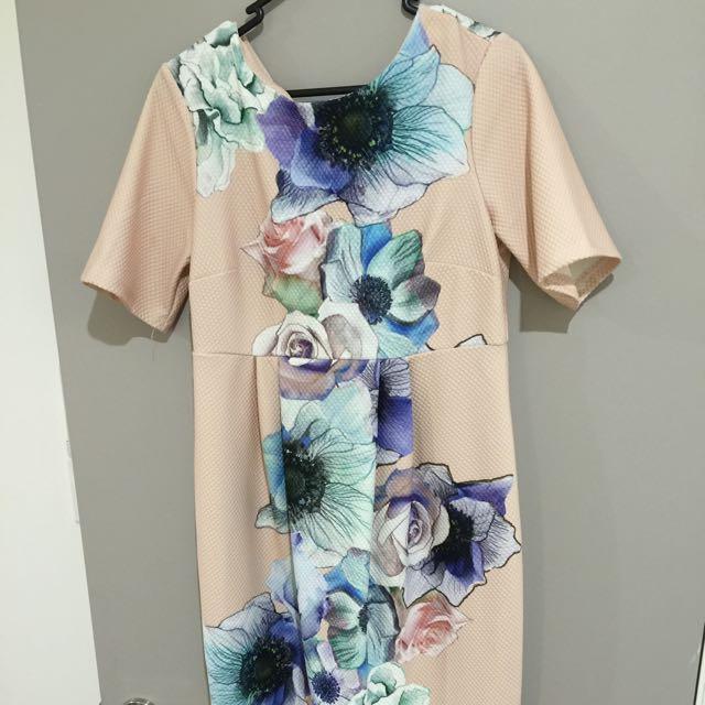 Asos Floral Maternity dress sz 10