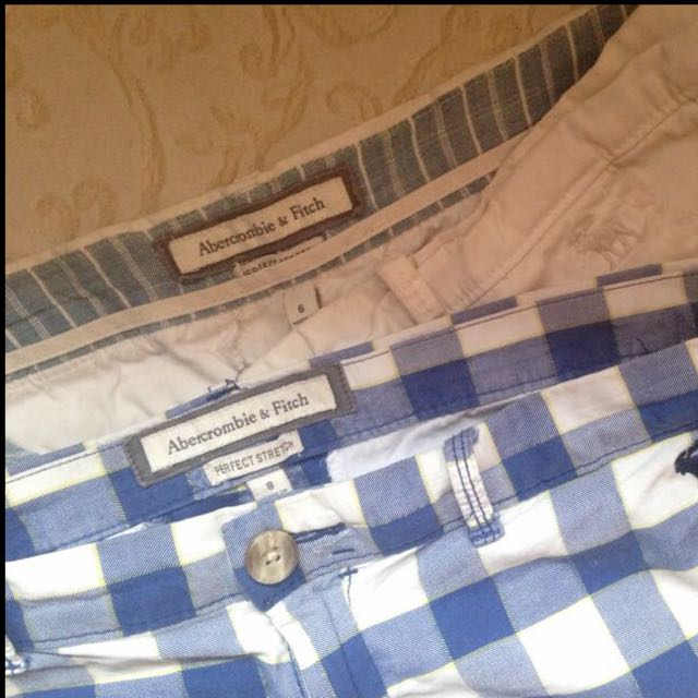 Authentic Abercrombie & Fitch Shorts (Bundle Price)