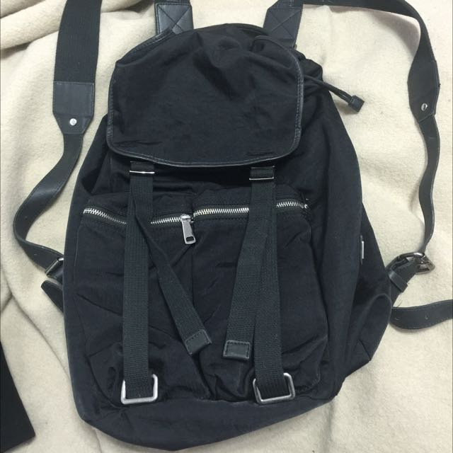Authentic Dolce & Gabbana Canvas Backpack