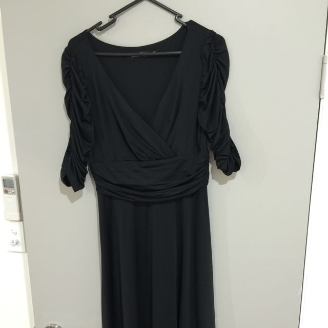 Black A-Line dress size 10