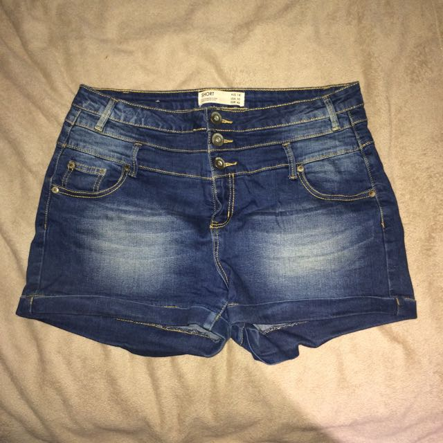 Cotton On High Waisted Shorts