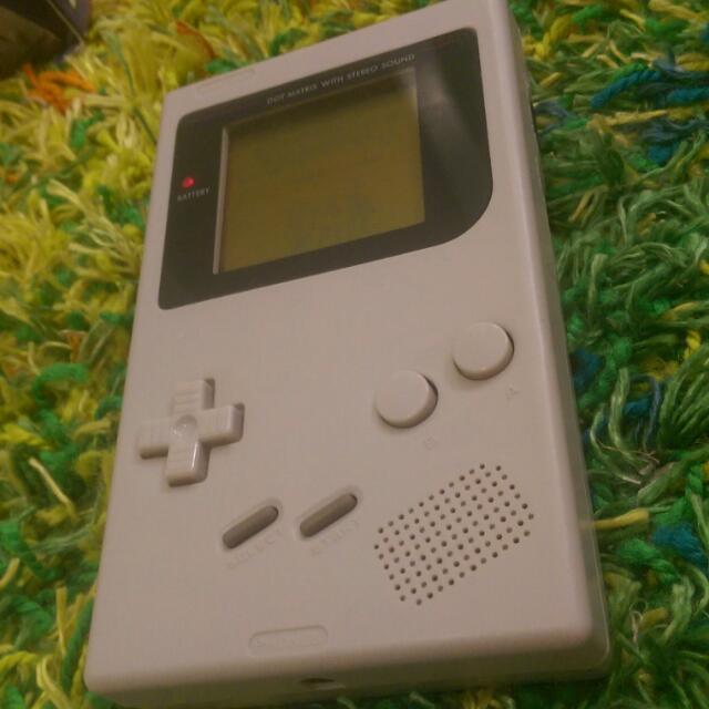 "Custom Nintendo Gameboy DMG-01 ""GreyBoy"""