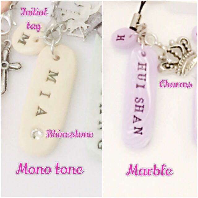 Customized Keychain Customized Necklace Name Tag Baby Shower
