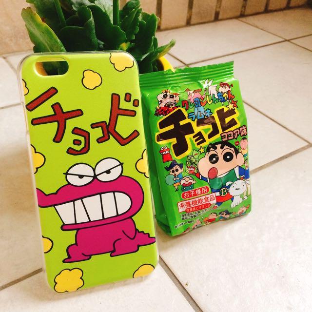 (免運現貨)iPhone6/6s小新餅乾手機殼