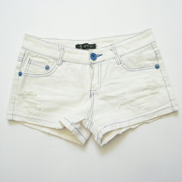 Korean White Short