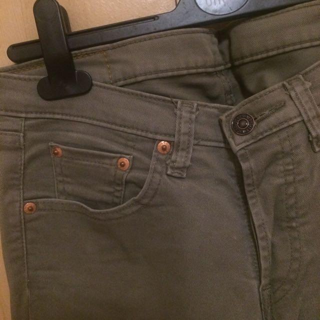 Levis 540牛仔褲