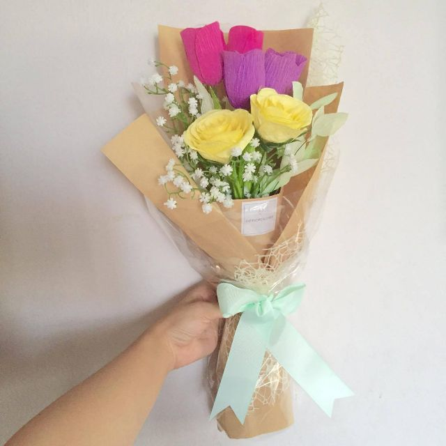 Mix bouquet (Tulips & Roses)