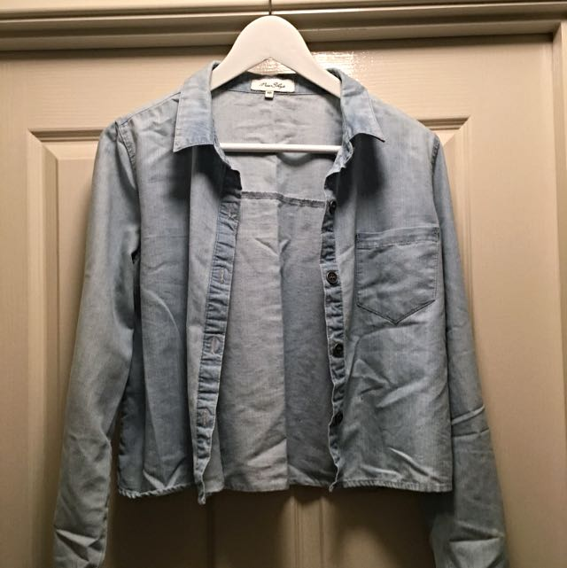 Myer Denim-look Shirt/jacket