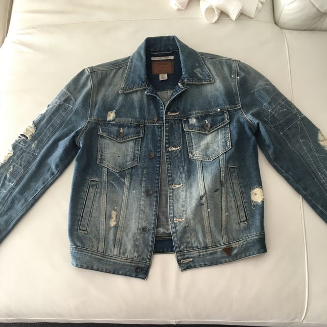 NEW Guess Men's Denim Jacket