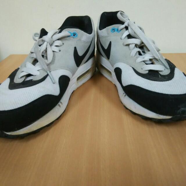 Nike Air max 1 ScubaGreyBlack Size 10 28cm, Men's