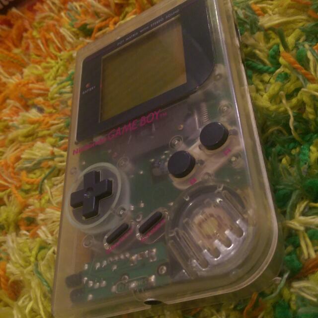 Nintendo Gameboy DMG-01 PIL Clear