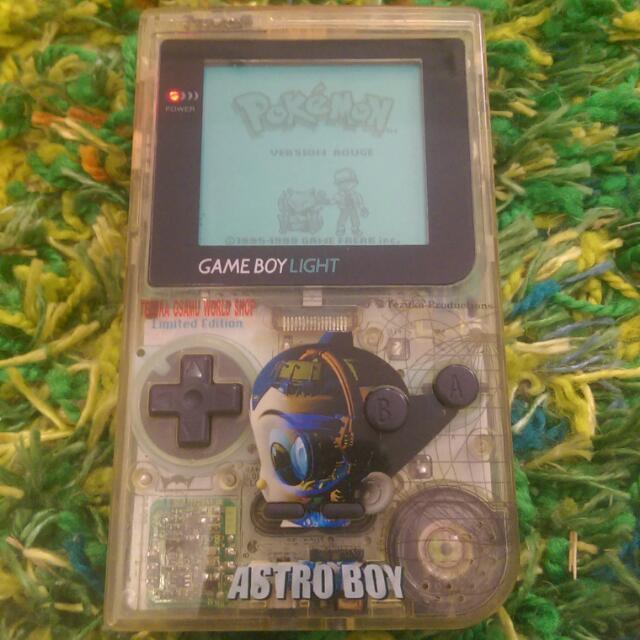 Nintendo Gameboy Light (Tezuka Ozama Astro Boy Limited Edition)