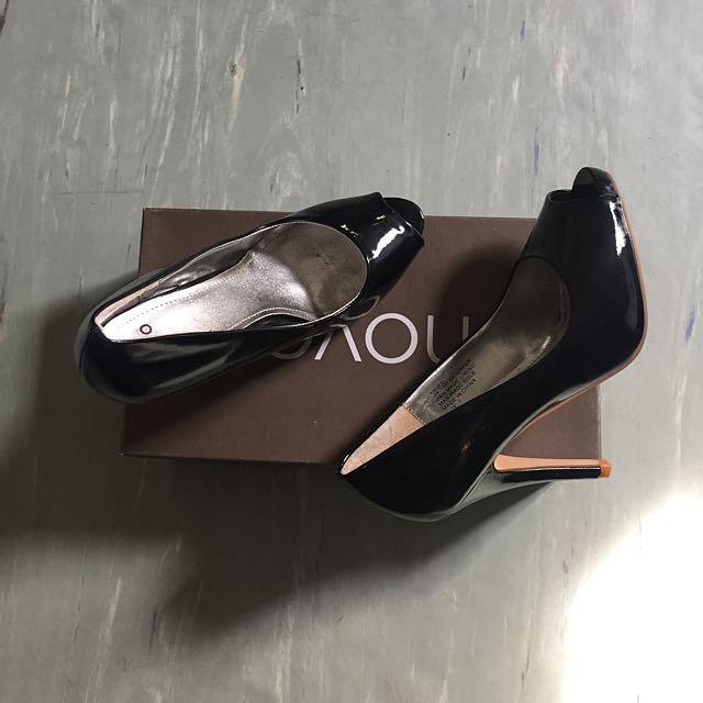 NOVO Peep Toe Heels