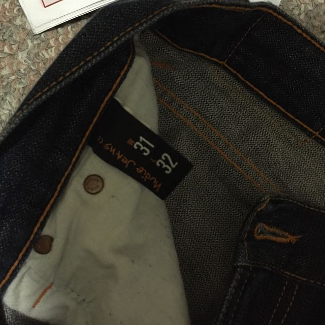 Nudie Jeans Size 31 Length 32