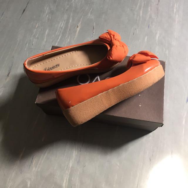 Platform Ballet Flats