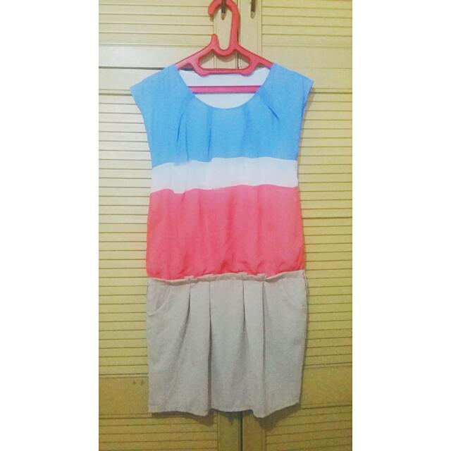 Preloved Short Dress / Terusan