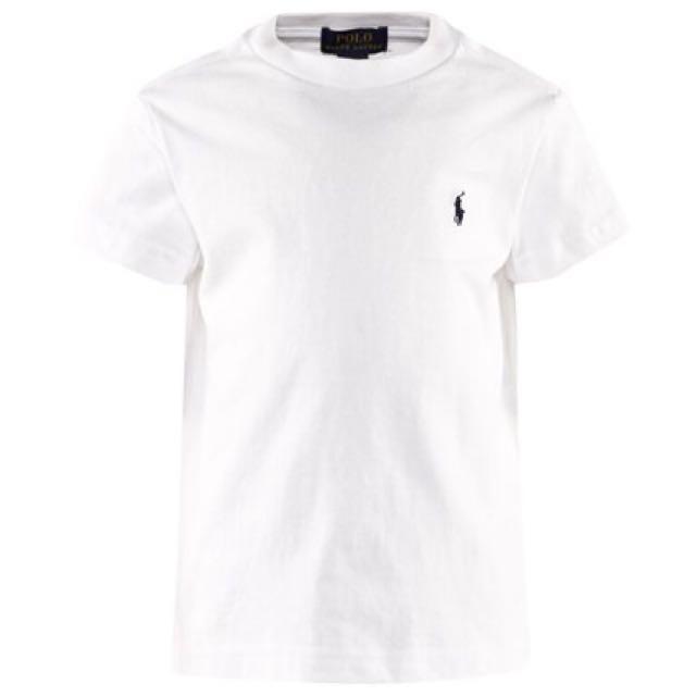 Ralph Lauren White Tshirt - Small