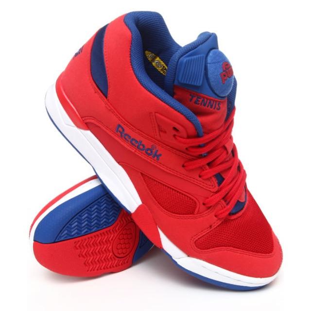31de8fd5644 Reebok Court Victory Pumps Unisex   red   royal blue   white ...