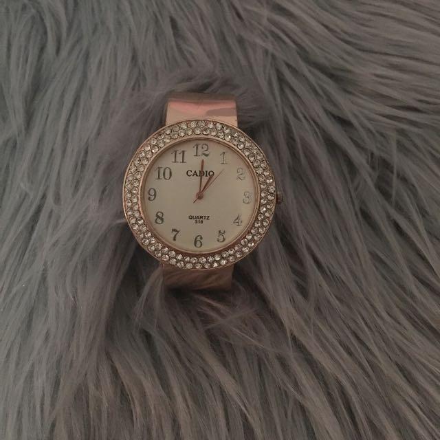 Rose Gold Bracelet Watch