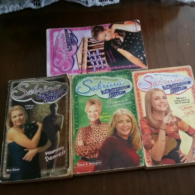 Sabrina - The Teenage Witch books