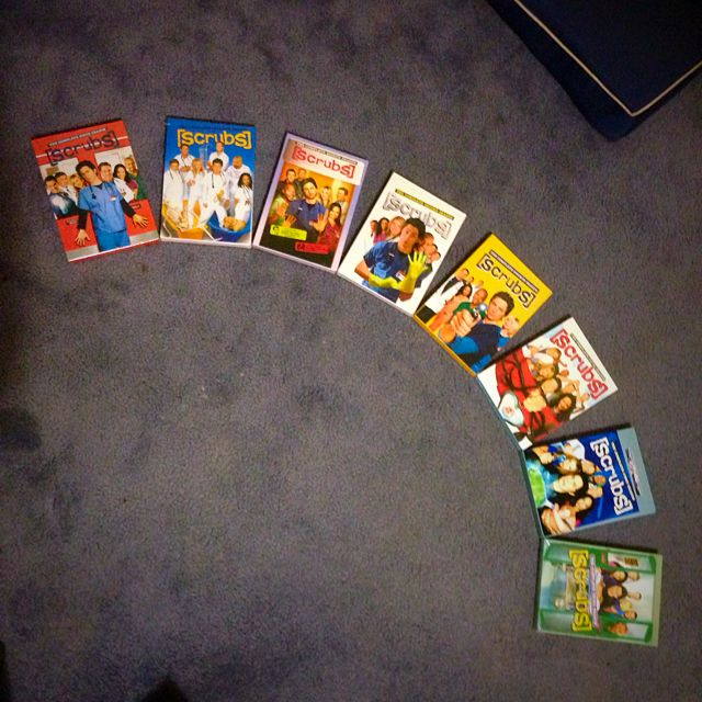 Scrubs DVDs Full Set