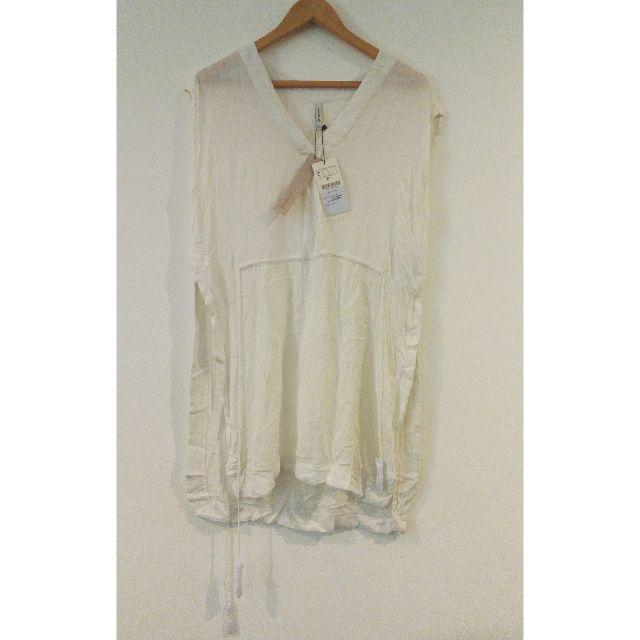 STRADIVARIUS Broken White Dress (BRAND NEW WITH TAG)