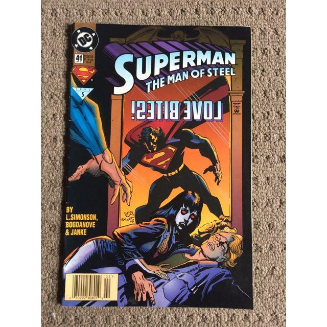 Superman The Man Of Steel Love Bites 1995 Comic