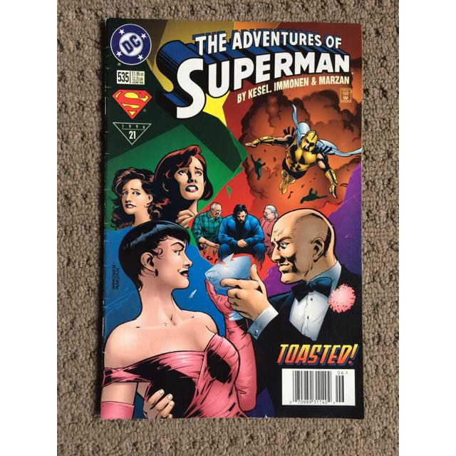 The adventures of Superman 1996 comic