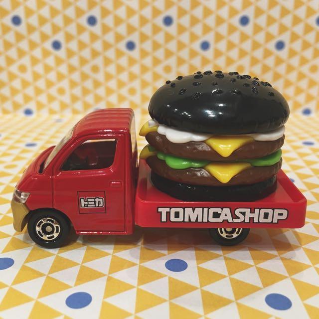 Tomica 日本 漢堡車 黑色 限定款