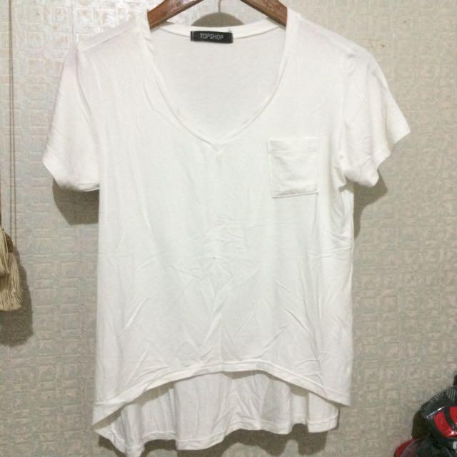 Top Shop White Tshirt