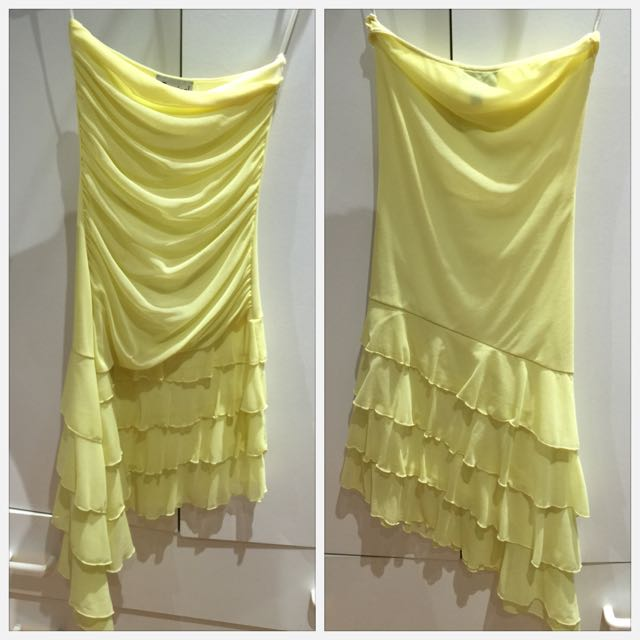 Yellow Tube Dress