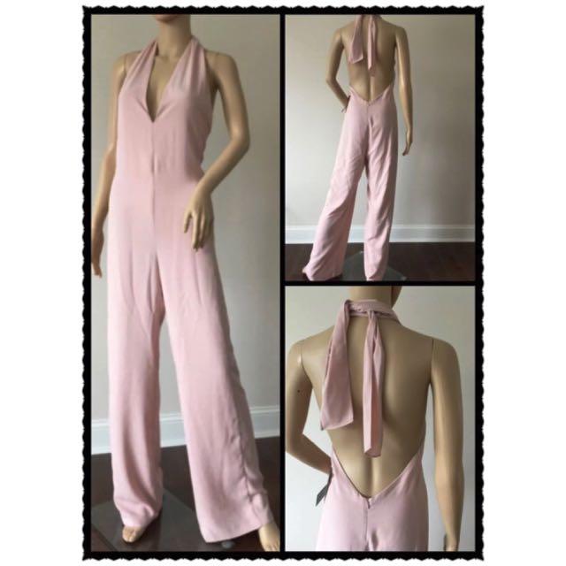 Zara Pink Jumpsuit