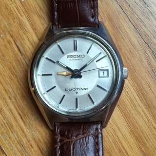 [Reserved] Vintage Seiko Duotime 5619-7000