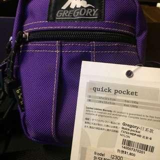 Gregory-日系款 Quick pocket